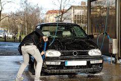 Lavage de voiture Images stock