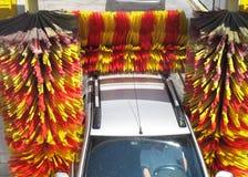 Lavage de voiture Images libres de droits