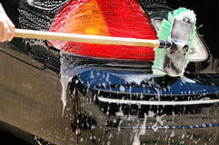 Lavage de voiture photo libre de droits