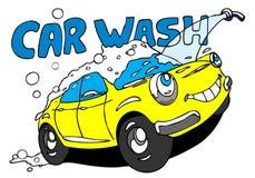 Lavage de voiture illustration libre de droits