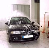 lavage de voiture photo stock