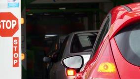 Lavage de voiture automatique Photo libre de droits