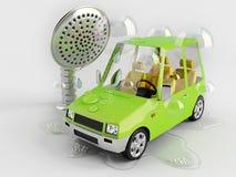 Lavage du véhicule Photo libre de droits