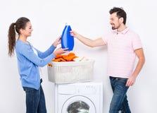 lavagem Foto de Stock