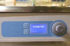 Lavagem automática do serviço do auto Foto de Stock