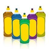 Lavagem da louça limpa Imagens de Stock Royalty Free