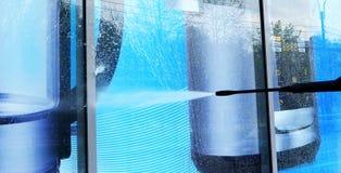 lavagem da Mostra-janela imagem de stock royalty free