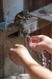 Lavagem das mãos Imagem de Stock Royalty Free