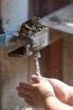 Lavagem das mãos Foto de Stock