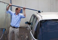 Lavagem de carro Fotografia de Stock Royalty Free