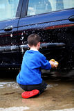Lavagem de carro Fotografia de Stock