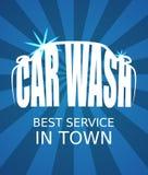 Lavagem de carros Fotos de Stock Royalty Free