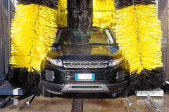Lavagem de carros Fotografia de Stock Royalty Free