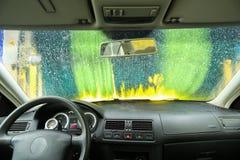 Lavagem de carros! Imagem de Stock