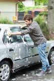 Lavagem de carros home imagens de stock royalty free