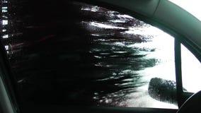 Lavagem de carros no posto de gasolina video estoque