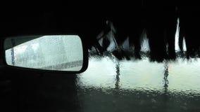 Lavagem de carros no posto de gasolina filme