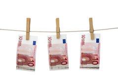 Lavagem de dinheiro Imagem de Stock