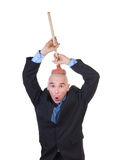 Lavagem do cérebro. imagens de stock