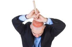 Lavagem do cérebro. imagem de stock