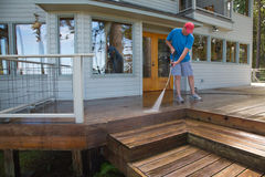 Lavagem Home da pressão da manutenção Fotografia de Stock Royalty Free