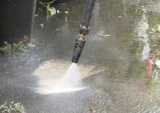 Lavaggio ad alta pressione Immagini Stock Libere da Diritti