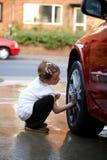 Lavaggio dell'automobile Fotografie Stock Libere da Diritti