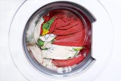 lavaggio della macchina Immagini Stock