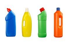 Lavaggio delle bottiglie di plastica Immagine Stock Libera da Diritti