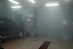 Lavaggio di automobile Fotografie Stock Libere da Diritti