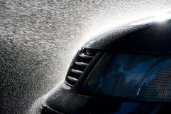 Lavaggio di automobile Immagine Stock