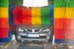 Lavaggio di automobile Immagini Stock