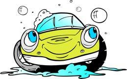 Lavaggio di automobile Immagini Stock Libere da Diritti