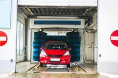 Lavaggio di automobile automatico Immagine Stock Libera da Diritti