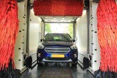 Lavaggio di automobile automatico immagine stock