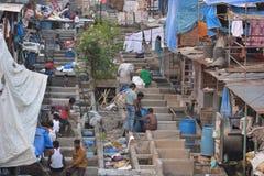 Lavaggio di Mumbai Fotografie Stock Libere da Diritti