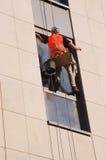 Lavaggio esterno della finestra Immagine Stock Libera da Diritti