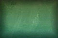 Lavagna in bianco verde per fondo Fotografie Stock