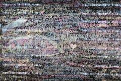 Lavagna con le scritture Fotografia Stock Libera da Diritti