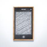 Lavagna nel formato dello Smart Phone Fotografie Stock