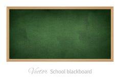 Lavagna nera della scuola Oggetto isolato Fotografie Stock Libere da Diritti