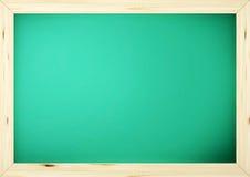 Lavagna nera verde del banco della scheda Fotografie Stock
