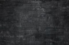 Lavagna nera vuota della lavagna Fotografia Stock