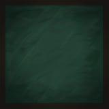 Lavagna verde quadrata in bianco Immagini Stock Libere da Diritti