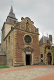 Laval dieu abbey facade, montherme' Royalty Free Stock Photos