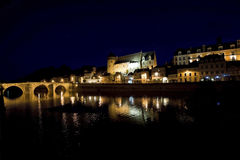 Laval by night Stock Photos