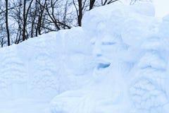 """Laval, Quebec †""""27 Januari, 2018: €œLaval Engelse blanc† van het de winterfestival Stock Foto's"""