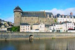 Laval slott Arkivbild