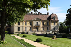 Laval slott av Lacroix Royaltyfria Bilder