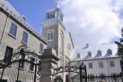 ` Laval University Ecoles d Architektur-Gebäude von altem Québec-Stadt in Kanada stockbilder